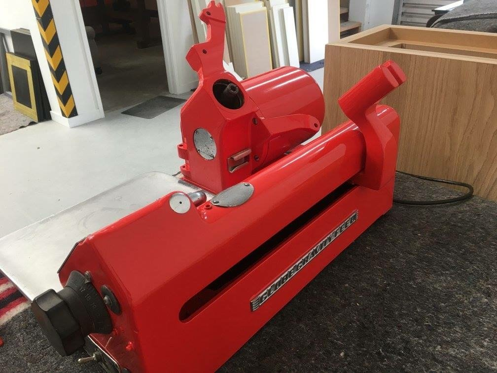 Restored Meat Slicer