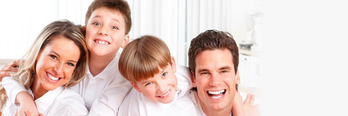 Family who comes to us for general dentistry in Pakenham