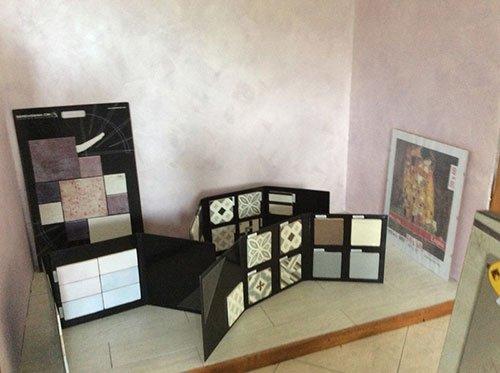 campioni mattonelle per termocamini caminetti e stufe