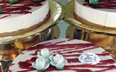 torte al lampone