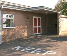 Village hall - West Malling, Kent - West Malling Village Hall - Hall outside