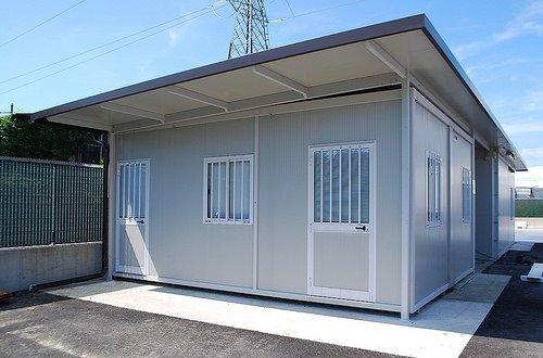 Casetta Giardino In Alluminio : Casette da giardino verona m d t prefabbricati metallici
