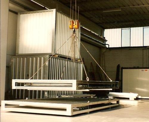 strutture prefabbricate lamiera zincata
