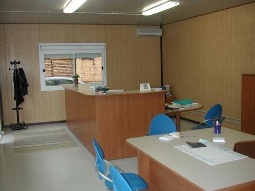 uffici prefabbricati con accessori