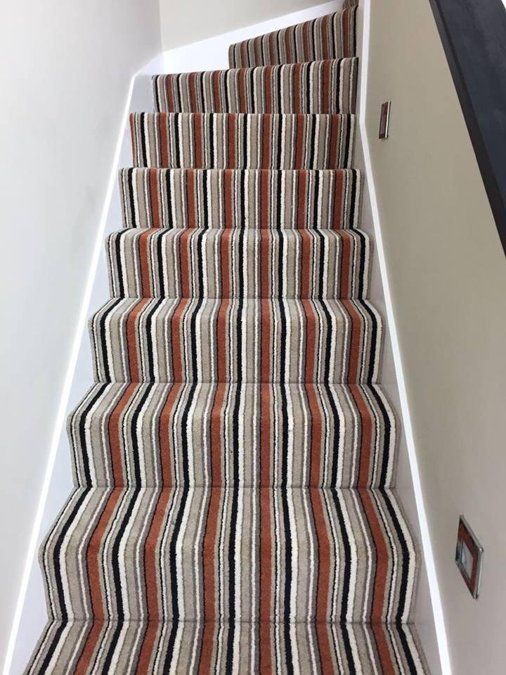 strips floor carpet