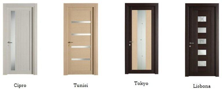 porte massellate Cipro, Tunisi, Tokyo,Lisbona