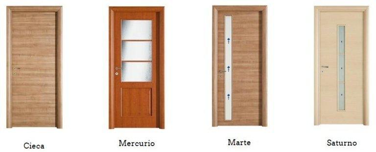 porte tamburate CIECA MERCURIO MARTE SATURNO