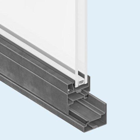 infisso in alluminio