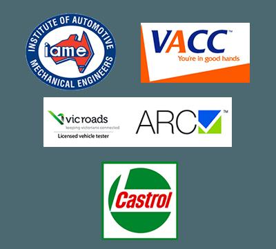 Malvern Auto Repairs logos