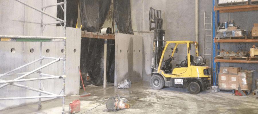 Kwik Cut concrete cutting Gold Coast Gallery