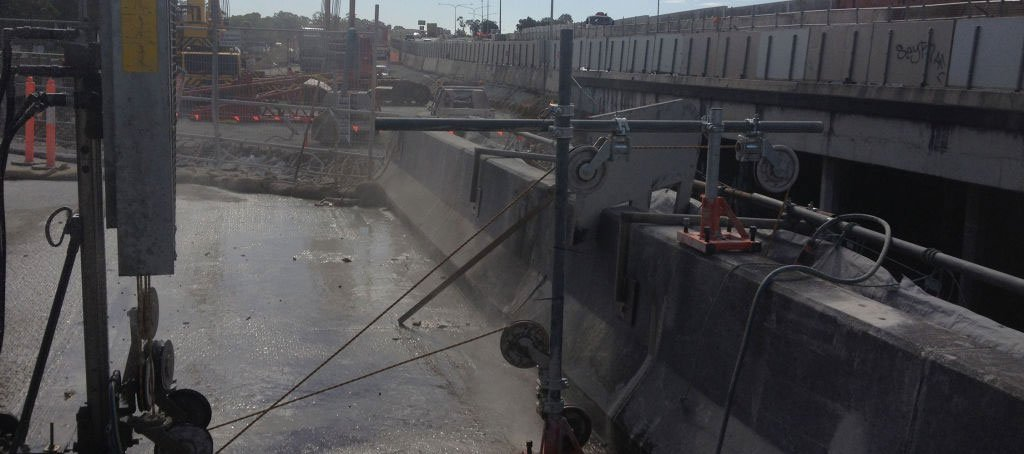 Kwik Cut concrete cutting Brisbane Gallery
