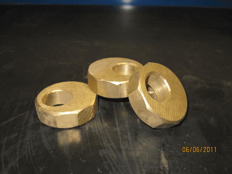 bronze decagons