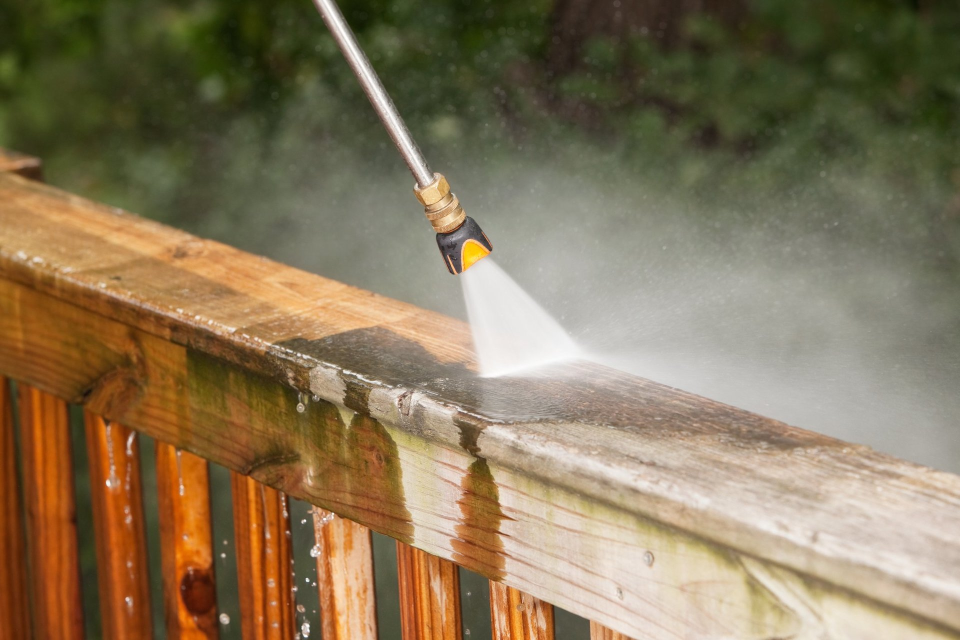 pressure washing Raleigh, NC