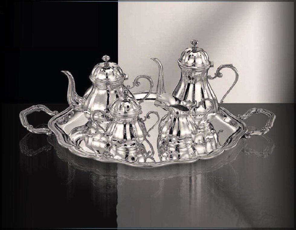 Servizio da thè in argento