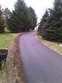 Newly Sealed Driveway