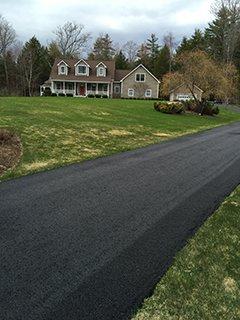 Long Driveway Pavement