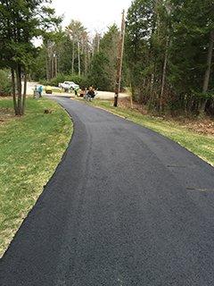 Sealed Driveway Pavement