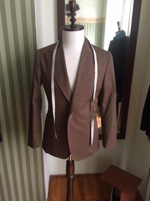 giacca da uomo sartoriale