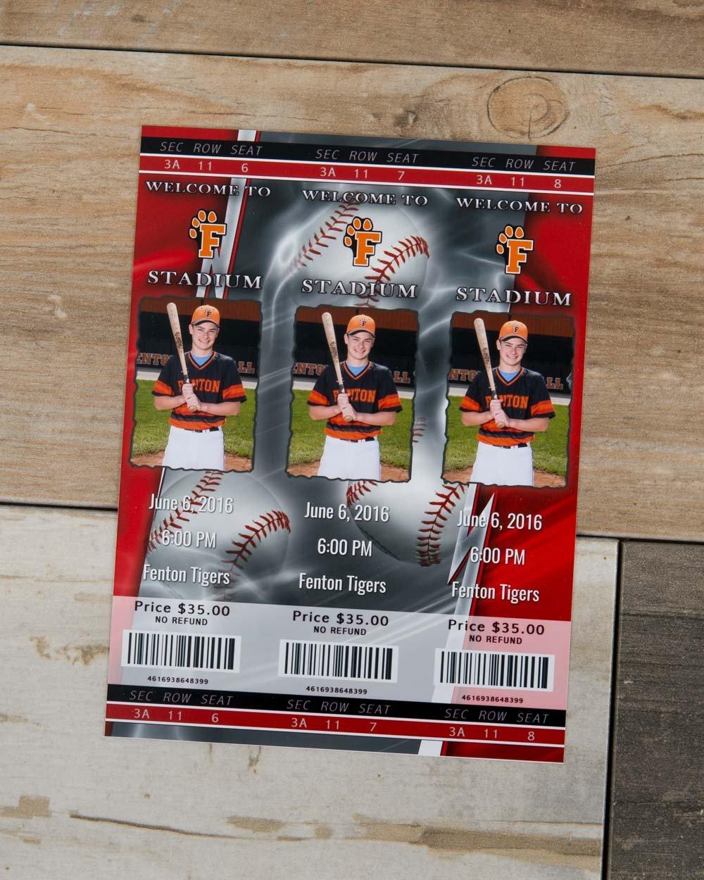 Sport Tickets Magnet