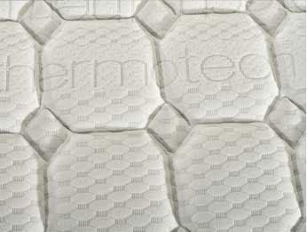 un materasso con scritto Thermotec