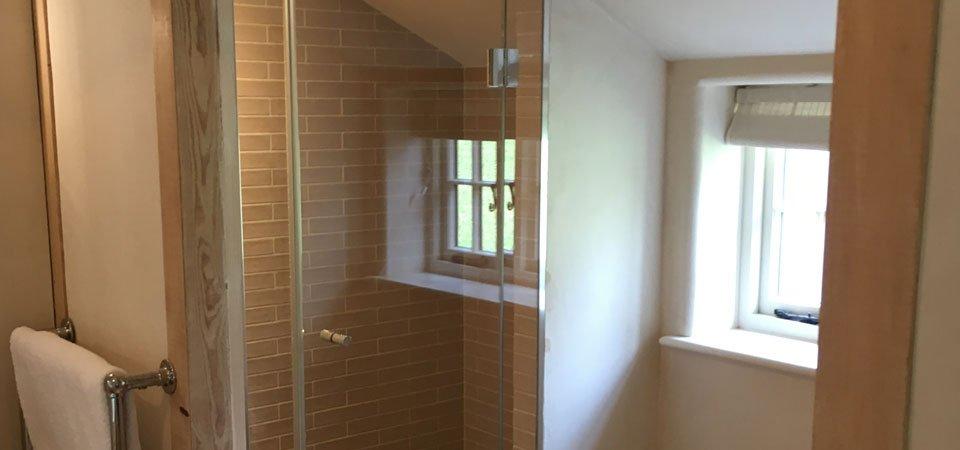 home glass shower screen