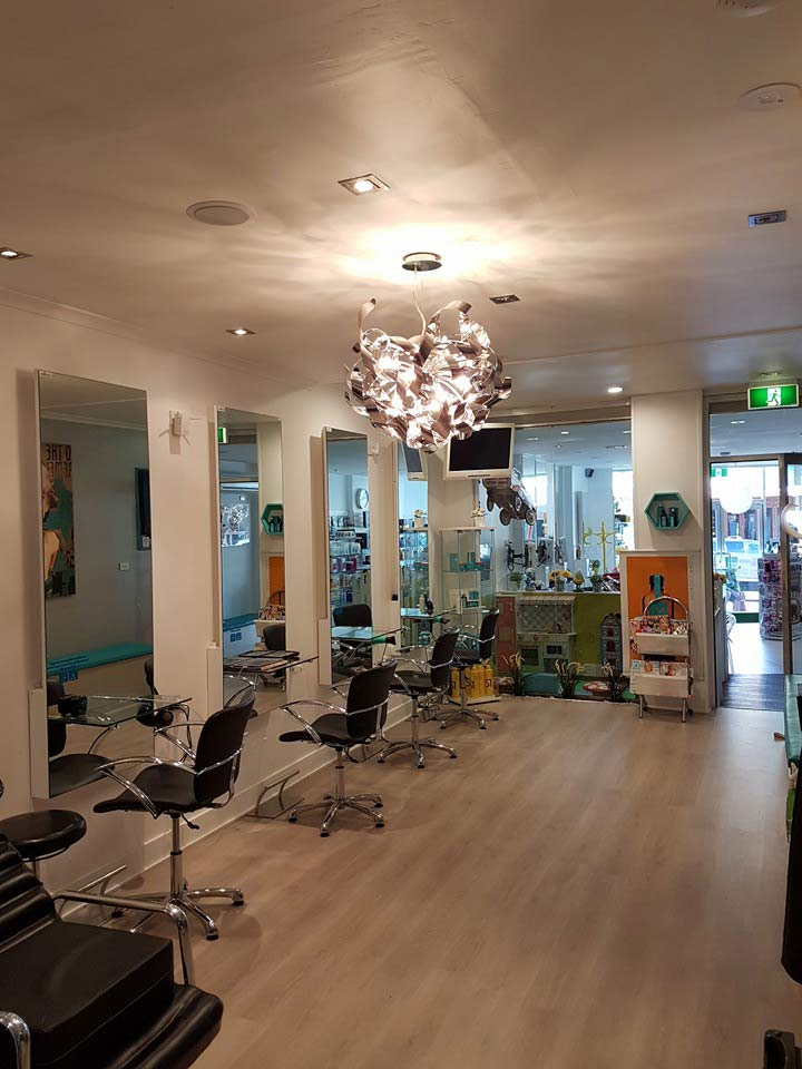 safe n sound electrical hair salon lighting