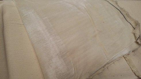 velluto bianco stock