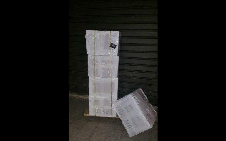 Imballaggio di pacchi