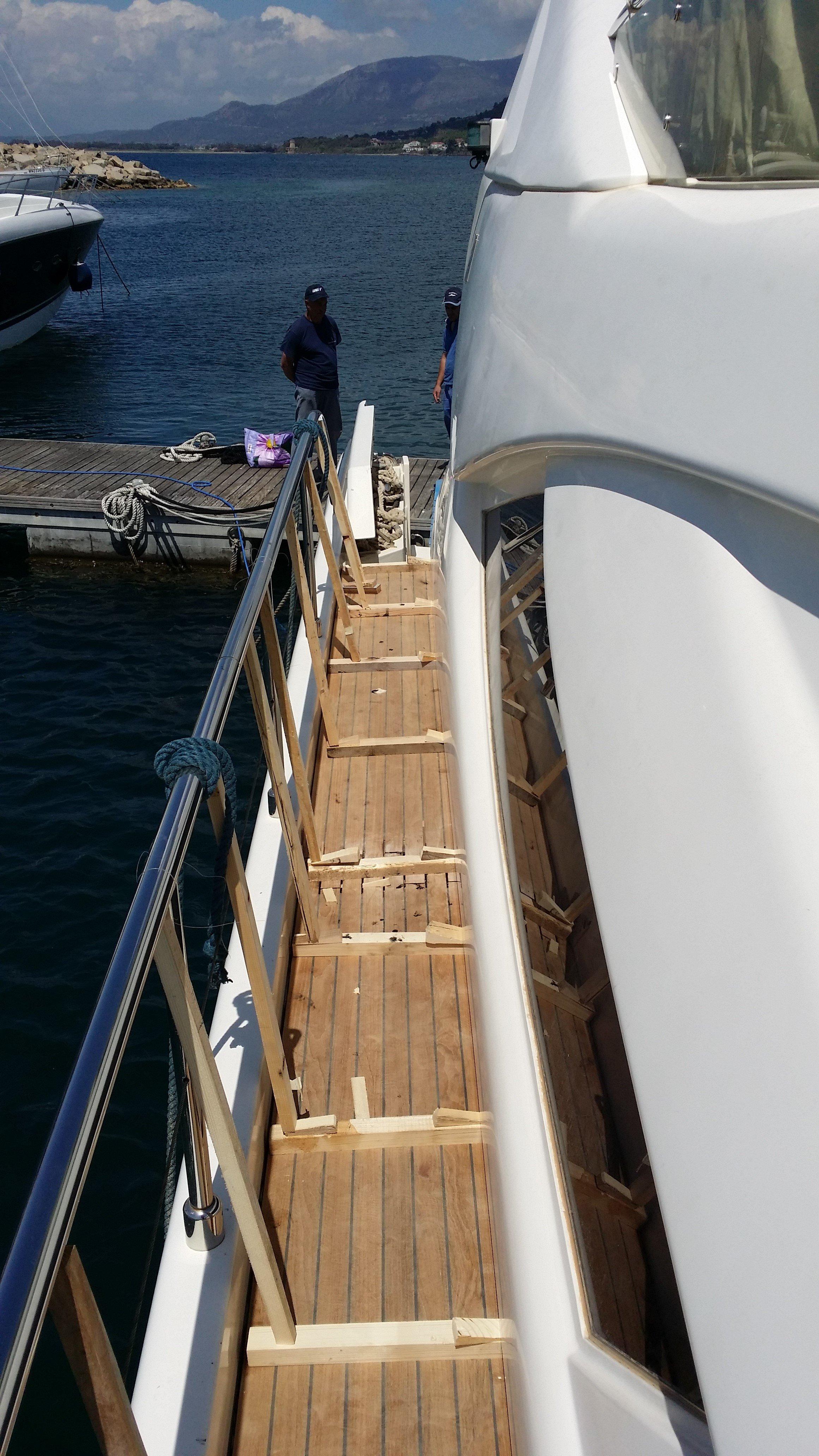 realizzazione lavori restauro barche