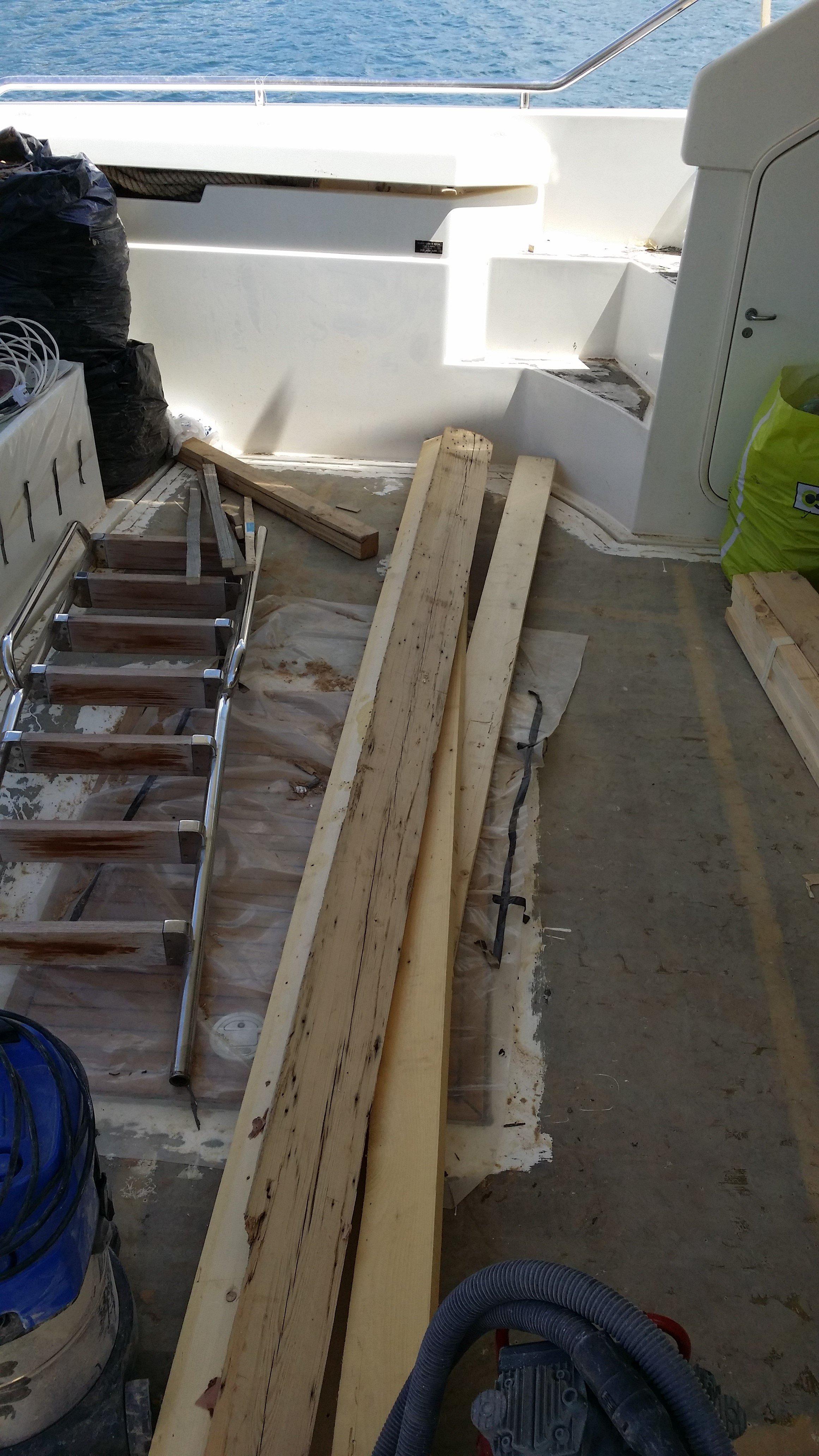 progettazione lavori restauro barche