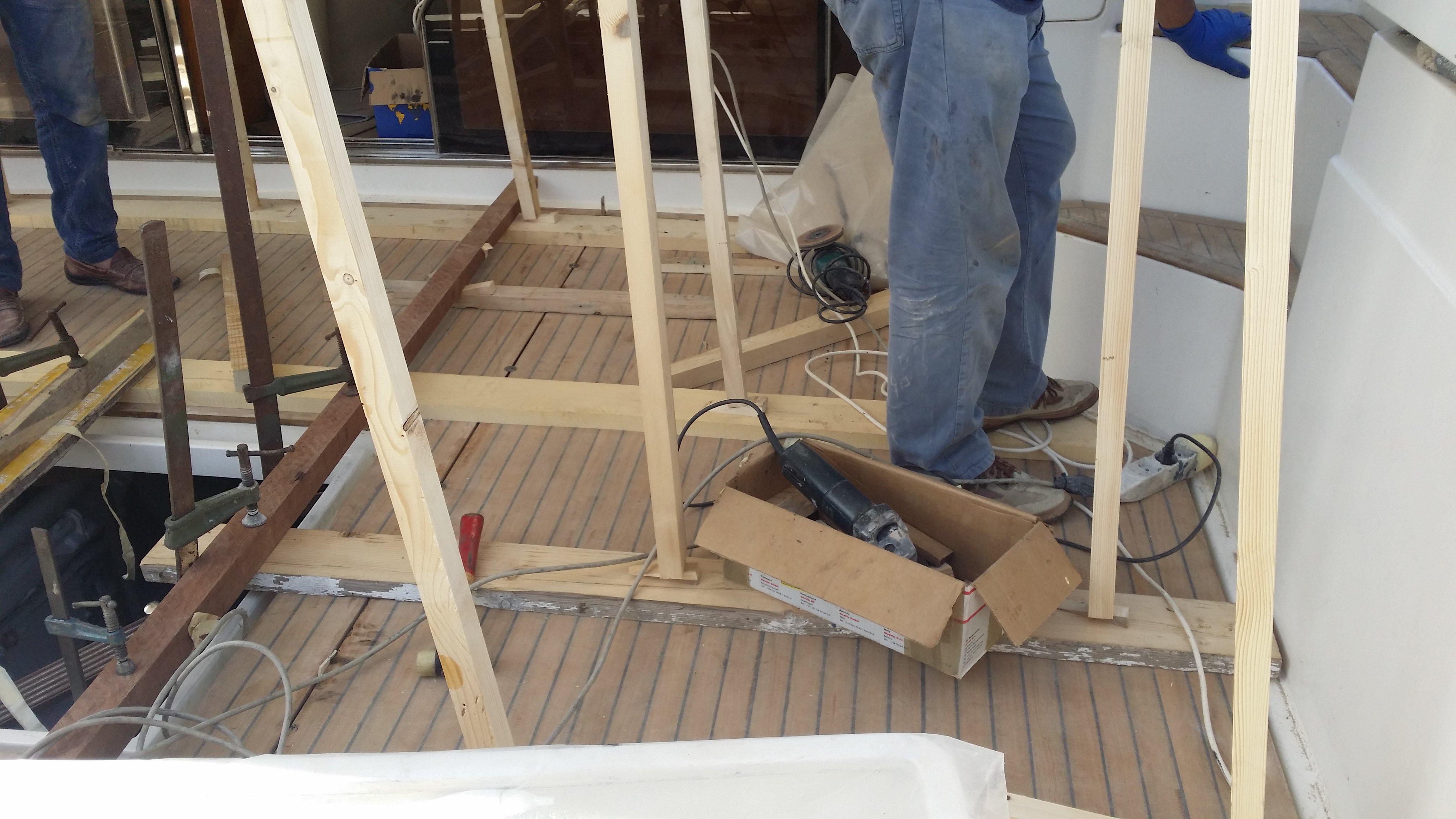 fissaggio vetrate yacht