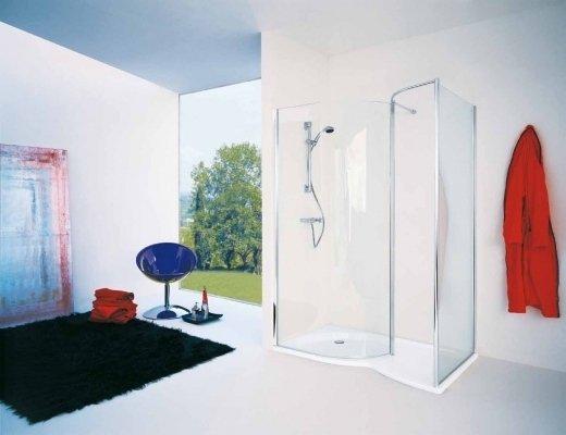 Esempio di box doccia vetro