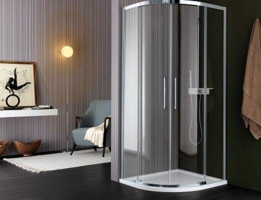 Esempio di box doccia di design