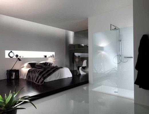 Esempio di box doccia in camera