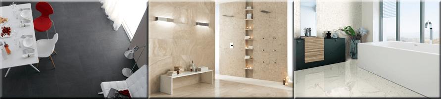 Ceramic Glass Tile Backsplash