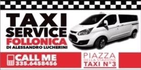 servizio taxi follonica
