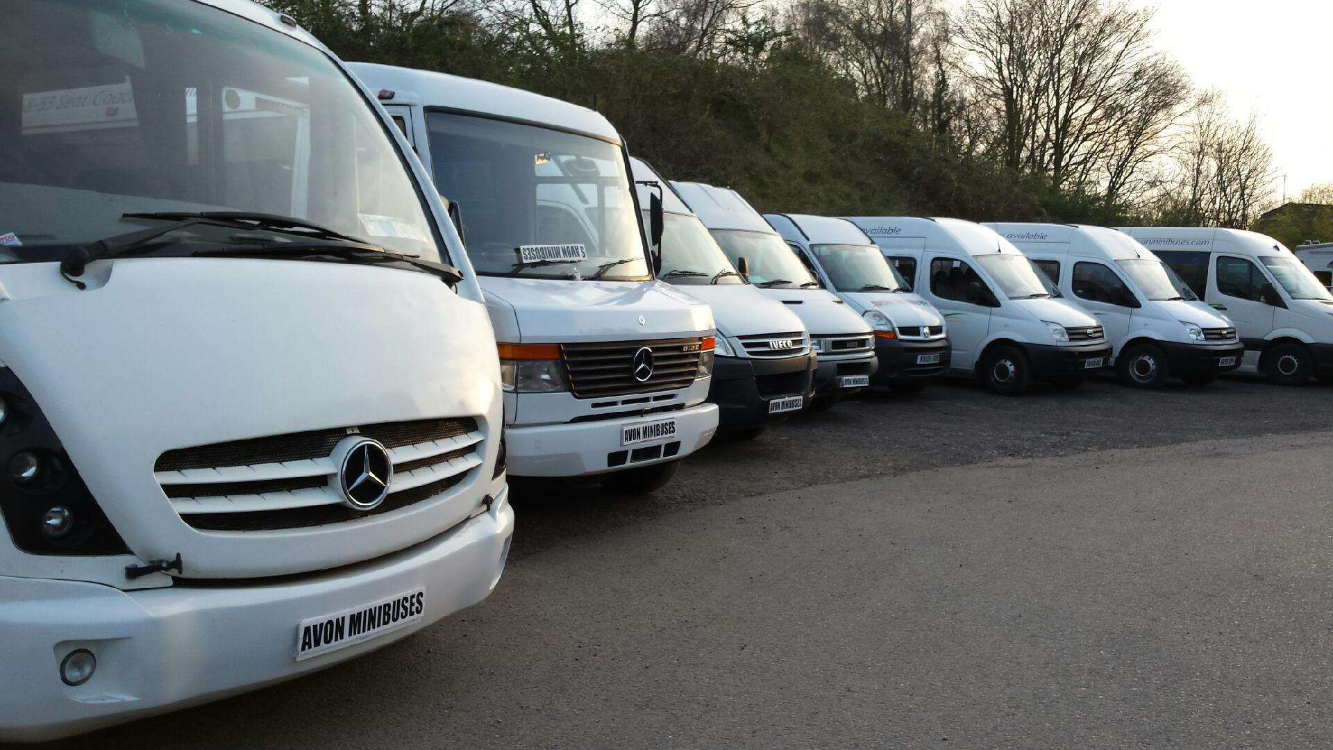 a wide range of minibuses