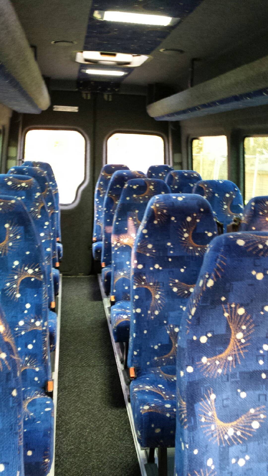 attractive minibus seats