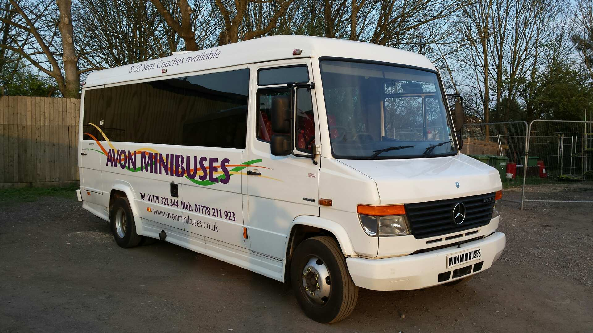 luxury minibus for hire