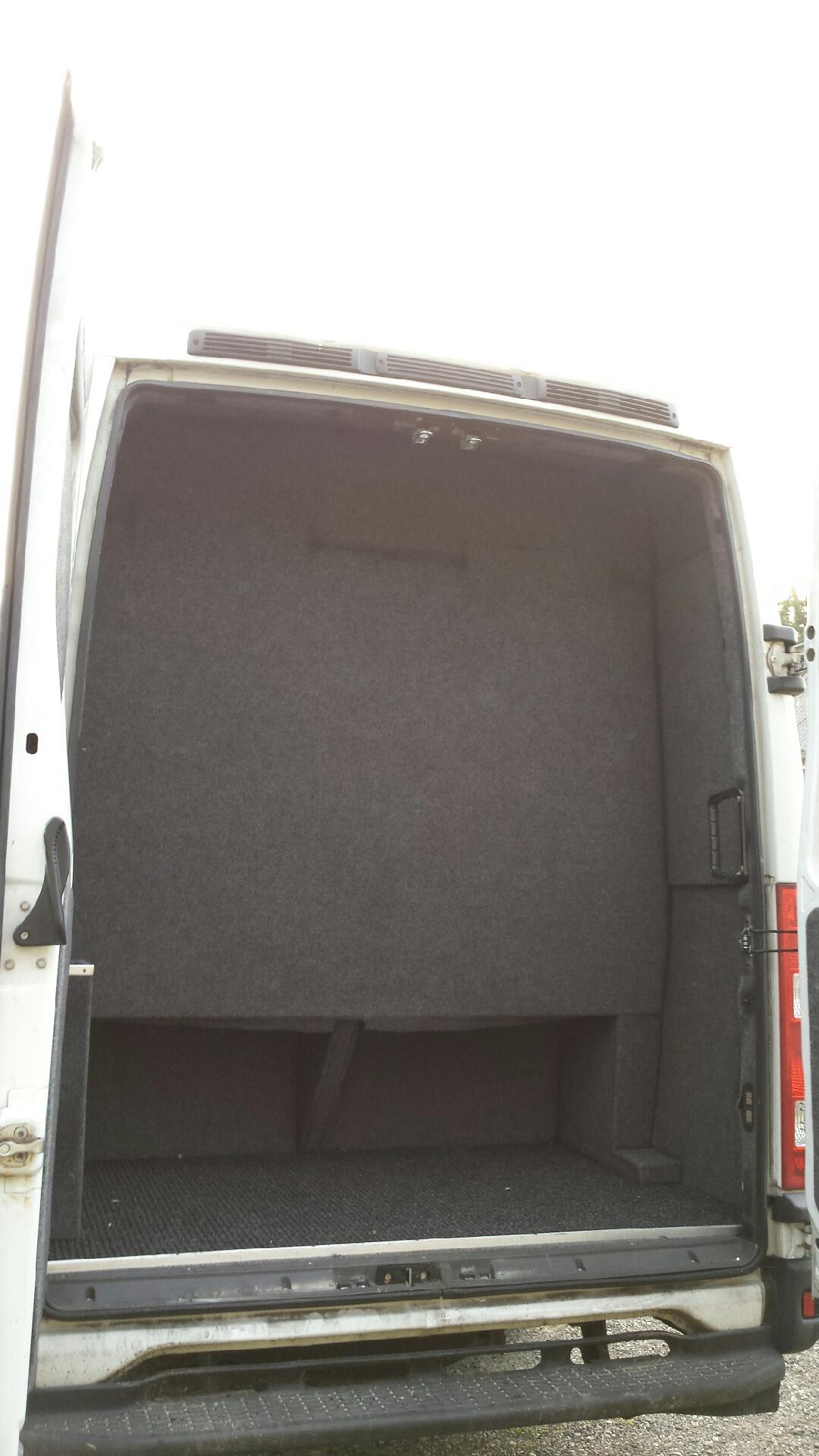 minibus rear view