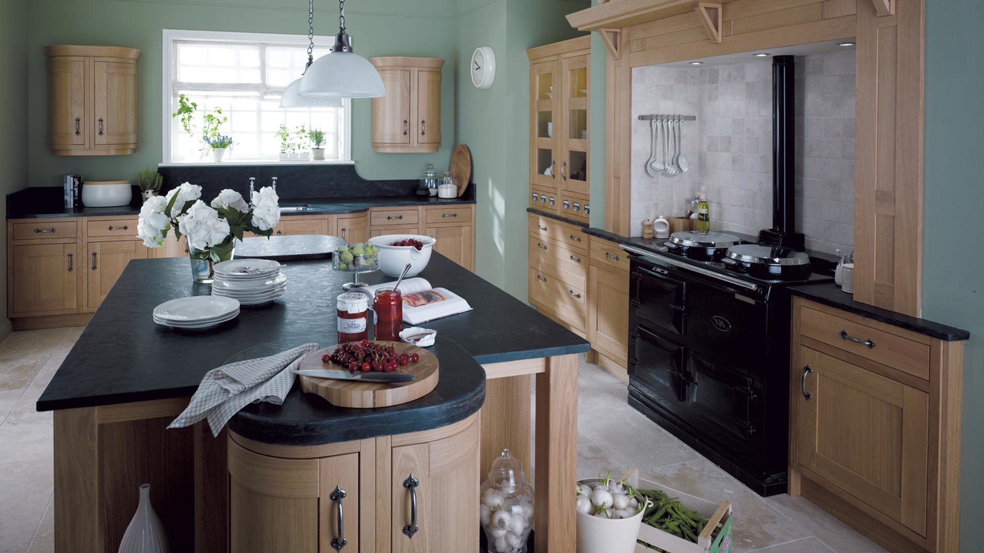 Interior of Kitchen in the Scottish Borders