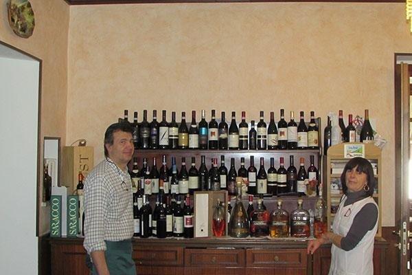 ampia scelta di vino