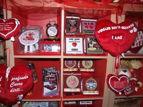 oggetti per San Valentino