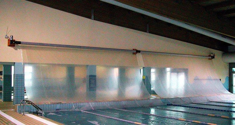 coperatura di una piscina