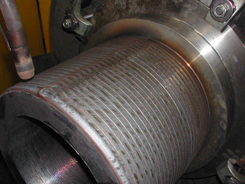 pezzo cilindrico di una macchina automatica