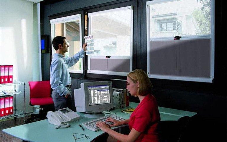 Tenda tecnica Compacta da ufficio