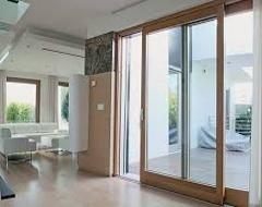 porta finestra in legno roma