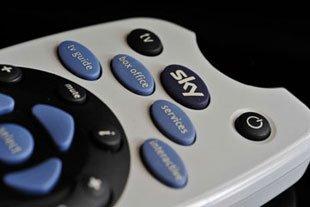 Sky installation & repair  - Bonnyrigg, Midlothian - Kinnear Aerials - TV remote