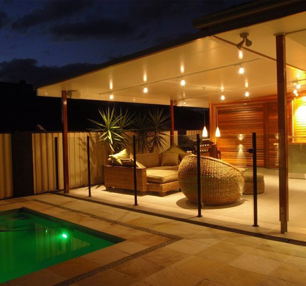 shoalhaven patios patio with lights