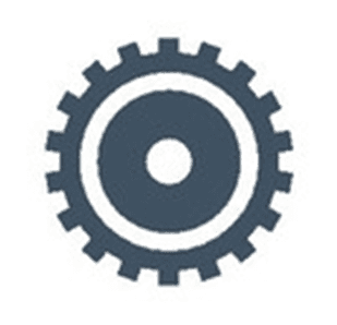 Watch gear icon